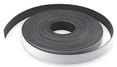 "Flexible Magnetic Strip with Adhesive 60milx1""x100F (4 rolls/box)"
