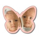 Announcement Magnet - Butterfly Shape (2.75x2.5) - 25 mil.