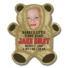 Announcement Magnet - Teddy Bear Shape (4x4.625) - Outdoor Safe
