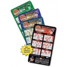 Magnet Sport Schedules - 4x7 Basketball Round Corners - 25 Mil.