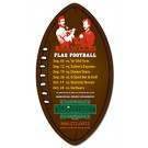 Magnet - Football Shape (3x5.5) - 25 Mil.