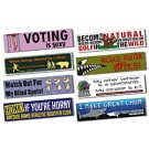 Magnetic Car/Truck/Auto/Vehicle Bumper Sign - 11.5x3