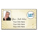 Business Card Magnet - One Day Ship - 3.5x2 (Square Corners)