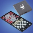 Classic Game of Magnetic Chess & Backgammon