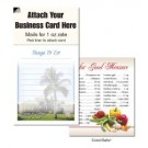 "Magnetic Business Card Note Pads-""Palm House""- ""Things to do"""