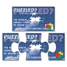 Magnet - 3-Piece Puzzle Shape (3.5x2) - Outdoor Safe