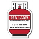 Magnet - Propane Bottle/Tank (2.25x3.3125) - Outdoor Safe