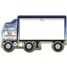 Mini Memo Board Shape - 8.375x4.75 - SEMI-TRUCK / TRACTOR TRAILER