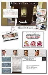Magna-Peel Postcard (10.5x5.5) with 3 Perforated Coupons and Business Card Magnet (3.5x2)