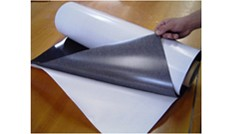 "Flexible Magnet Sheeting    20 Mil x 40"" x 50' Acrylic Adhesive"