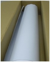 "Flexible Magnet Sheeting 30mil x 45"" x 50' White Matte"