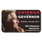 Political Business Card Magnet - 3.5x2 (Round Corners) - 25 mil.