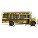 Magnet - School Bus Shape (4.88x2.1214) - Outdoor Safe