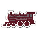 Magnet - Train Engine / Locomotive Shape (4x1.9) - Outdoor Safe