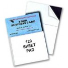 Business Card Magnetic Note Pad
