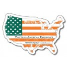 United States Shape Magnet - 3.5x2.34 - 20 mil.