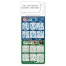 M.B.C. Sport Schedules - Basketball & Hockey Combo (3.5x9)