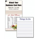 "Magnetic Business Card Note Pads-""Things To Do"""