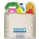 Memo Board - 8.5x10.125 Laminated Shaped (Grocery Bag) - 14 pt.