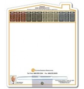 Memo Board - 8.5x10.125 Laminated Shaped (Home/House) - 14 pt.